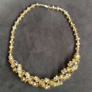 Jewelry - Gold Bead Statement Necklace